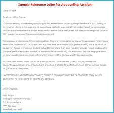 Accountant Reference Recommendation Letters 15 Samples Formats