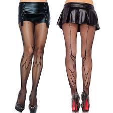 2019 <b>2014</b> New & Sexy Women'S Fishnet Flame <b>Pantyhose</b> With ...