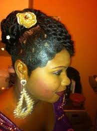Fabuleux Coiffure Mariage Afro Mh04 Montrealeast