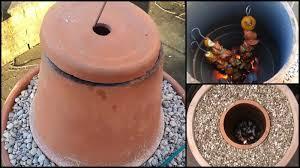diy flower pot tandoor oven