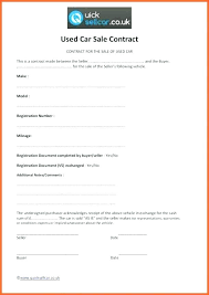 Used Car Sale Agreement Template Auto Sale Template Motor Vehicle Bill Of Form Forms In Car