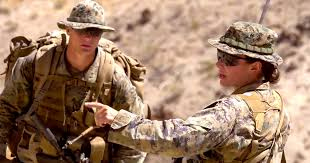 Marine Corps Officer Mos Chart First Female Marine To Graduate From Infantry Officer Course