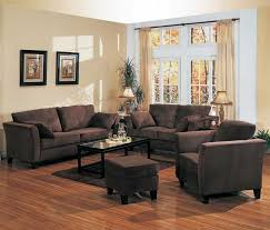 Awesome Brown Theme Paint Colors For Small Living Rooms With Dark inside  Paint Colors For Living