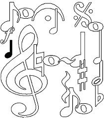 Wonderful Design Ideas Music Coloring Pages Kids For Printable Note