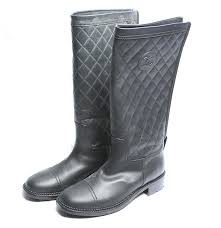 chanel quilted boots. chanel quilted leather boots