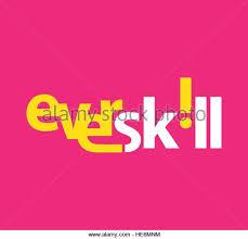 skill logo design. skill logo concept design. eps 10 supported. - stock image design l