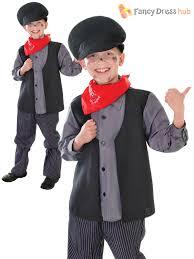kids victorian mary nanny chimney sweep fancy dress