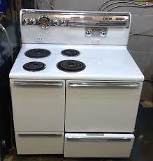 vintage ge general electric stove