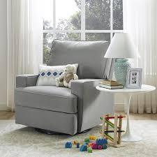 amazon com baby relax rylan swivel gliding recliner gray baby