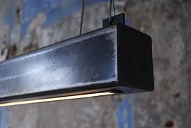 Led Lamp Stalen Balk Hanglamp Kantoor Kantoormeubelsnl