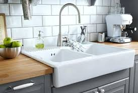 drop in white kitchen sink. Fine Kitchen White Kitchen Sink Picture Gallery Of  Strainer Waste Plug To Drop In White Kitchen Sink U