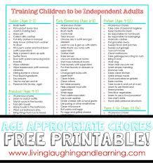Teenage Chore Charts Printable Resume Examples Resume