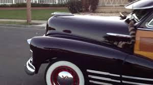 1947 Chevrolet Fleetline Aerosedan Country Club Woody - YouTube