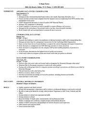 Data Entry Specialist Resume Samples Velvet Jobs Within Resume