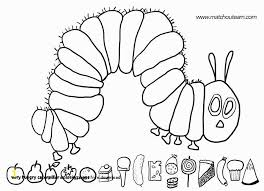 Very Hungry Caterpillar Coloring Pages Free Download Zabelyesayancom
