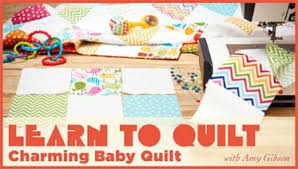 Custom Table Runner Beginner's Quilting Class   Craftsy & Learn to Quilt: Charming Baby Quilt Adamdwight.com