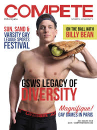 Compete the gay sports magazine