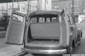129 1010 the chevy suburban turns 75 1950 suburban rear barn doors photo 05
