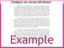essay on blindness oedipus rex essay blindness homework service
