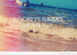 summer thanks and goodbye until next year