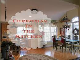 Christmas Decorations For Kitchen Modern Kitchen Christmas Decor In A Country French Rustic Kitchen