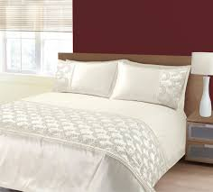zara bedding set in cream  free uk delivery  terrys fabrics