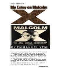 malcolm x essay project gcse history marked by teachers com essay on malcolm x