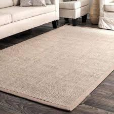 bordered maryjo sisal beige 9 ft x