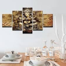 modern lord ganesha canvas wall art on ganesh canvas wall art with modern lord ganesha canvas wall art zenheavens