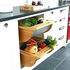 vegetable countertop storage bin for kitchen fruit stand counter top