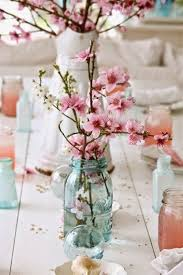 25 cute cherry blossom centerpiece ideas
