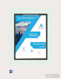 Free Business Report Cover Page Template Download 334 Reports In