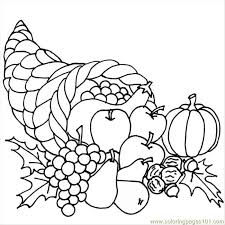 Small Picture Coloring Pages Kindergarten Thanksgiving Coloring Pages