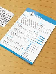 Download Word Resume Template Resume Template With Ms Word File Free Download By Designphantom 19