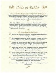 code of ethics na association of school principals code of ethics