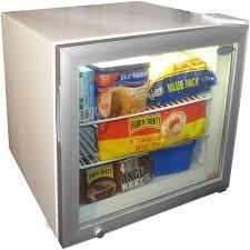 dellware glass door mini freezer model dw sd50