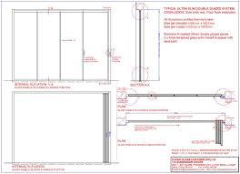 technical detail dg frameless glass doors