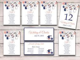 Rustic Wedding Seating Chart Template Mason Jar Seating