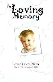 Memorial Announcement Cards Death Announcement Cards Free Funeral Announcements Template Fresh