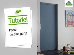Comment Changer Une Porte Interieure Photos Uniques Comment Poser Un Bloc  Porte Leroy Merlin Youtube