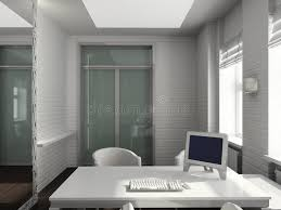 modern interior office stock. Download 3D Render Modern Interior Of Office Stock Illustration - Indoors, Inside: F
