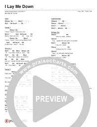 I Lay Me Down Chords Michael W Smith Praisecharts