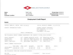 employment background check. Brilliant Background PreEmployment Credit Report In Employment Background Check