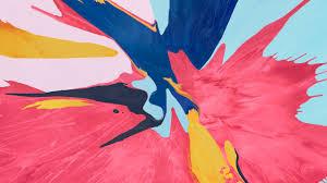 Wallpaper abstract, colorful, iPad Pro ...