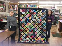 Quilt Cupboard, The - Home | Facebook & Image may contain: 2 people, people smiling, indoor Adamdwight.com