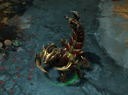 dota 2 daily iron sting set for sand king credit crowntail
