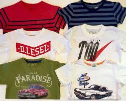 Hudson Designer Shirts Euc Lot Of 6 Designer Boys 2 T Shirts Diesel Hudson Mayoral