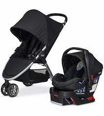 britax b agile b safe 35 2018 travel system black