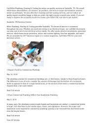 nashville plumbers heating air conditioning in nashville tn