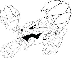 Legendary Pokemon Coloring Pages Rayquaza Coloring Page Mega